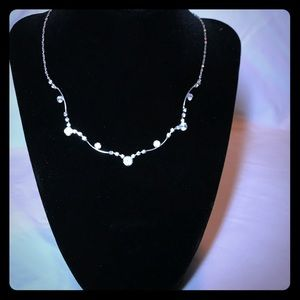 💎Glam crystal necklace💎
